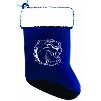University of North Carolina at Asheville - Chirstmas Holiday Stocking Ornament - Blue