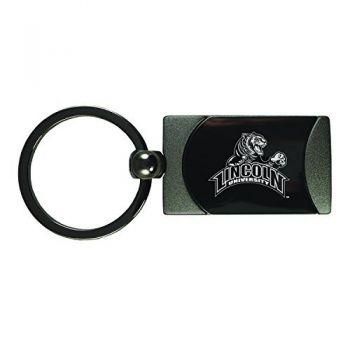 Lincoln University-Two-Toned Gun Metal Key Tag-Gunmetal