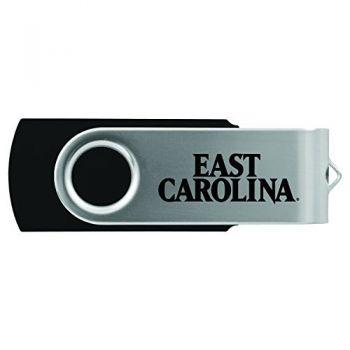 East Carolina University-8GB 2.0 USB Flash Drive-Black