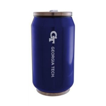 Georgia Institute of Technology - Stainless Steel Tailgate Can - Blue