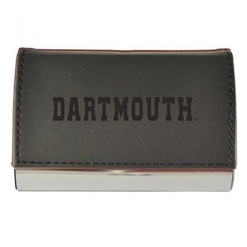 Velour Business Cardholder-Dartmouth College-Black