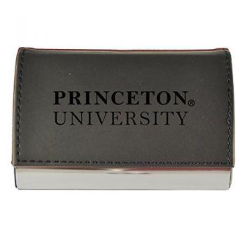 Velour Business Cardholder-Princeton University-Black
