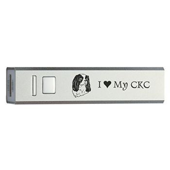 Quick Charge Portable Power Bank 2600 mAh  - I Love My Cavalier King Charles