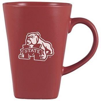Mississippi State University -14 oz. Ceramic Coffee Mug-Pink