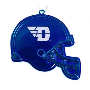 University of Dayton - Christmas Holiday Football Helmet Ornament - Blue