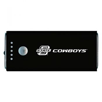 Oklahoma State University -Portable Cell Phone 5200 mAh Power Bank Charger -Black