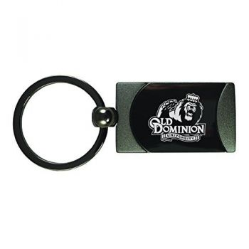 Old Dominion University -Two-Toned Gun Metal Key Tag-Gunmetal