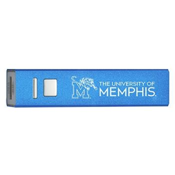 Quick Charge Portable Power Bank 2600 mAh - Memphis Tigers