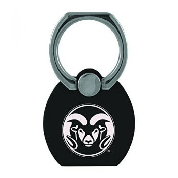 Colorado State University, Pueblo|Multi-Functional Phone Stand Tech Ring|Black