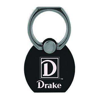 Drake University|Multi-Functional Phone Stand Tech Ring|Black