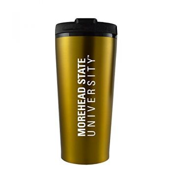 Morehead State University -16 oz. Travel Mug Tumbler-Gold