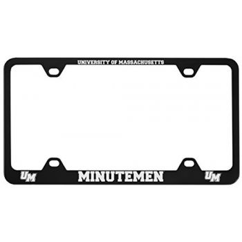 University of Massachusetts, Amherst-Metal License Plate Frame-Black