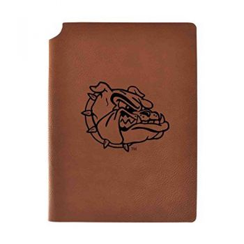 Gonzaga University Velour Journal with Pen Holder|Carbon Etched|Officially Licensed Collegiate Journal|