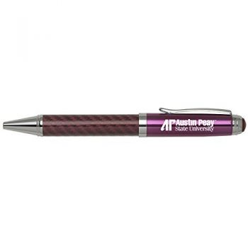 Austin Peay State University -Carbon Fiber Mechanical Pencil-Pink