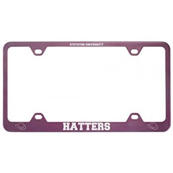 Stetson University -Metal License Plate Frame-Pink