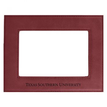 Texas Southern University-Velour Picture Frame 4x6-Burgundy