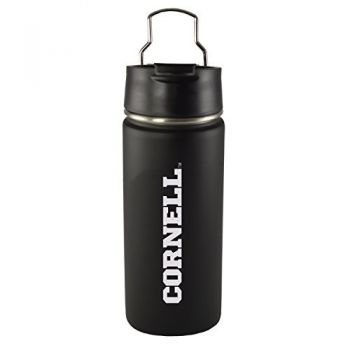 Cornell University-20 oz. Travel Tumbler-Black