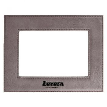 Loyola University Maryland-Velour Picture Frame 4x6-Grey