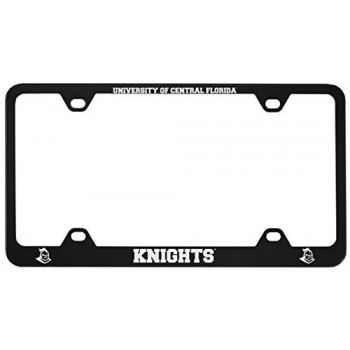 University of Central Florida -Metal License Plate Frame-Black