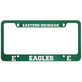 Eastern Michigan University-Metal License Plate Frame-Green