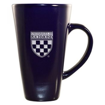 University of Richmond -16 oz. Tall Ceramic Coffee Mug-Blue