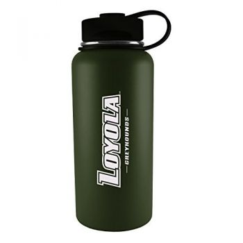 Loyola University Maryland-32 oz. Travel Tumbler-Gun Metal