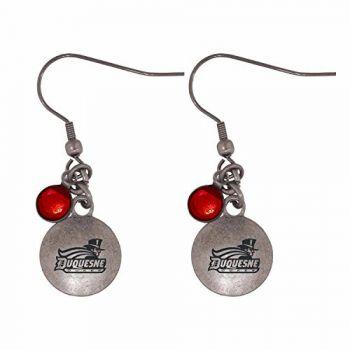 Duquesne University-Frankie Tyler Charmed Earrings