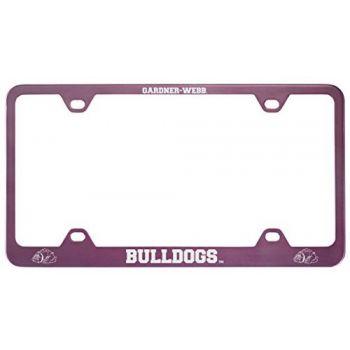 Gardner-Webb University-Metal License Plate Frame-Pink
