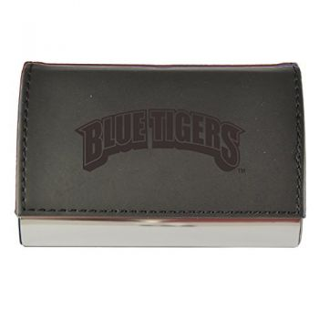 Velour Business Cardholder-Lincoln University-Black