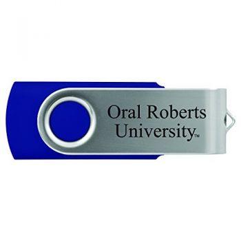 Oral Roberts University -8GB 2.0 USB Flash Drive-Blue