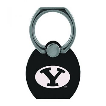 Brigham Young University|Multi-Functional Phone Stand Tech Ring|Black
