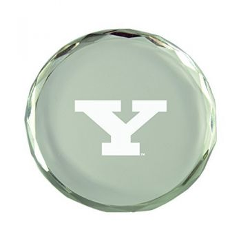 Youngstown State University-Crystal Paper Weight