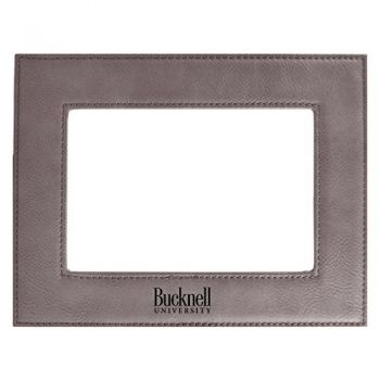 Bucknell University-Velour Picture Frame 4x6-Grey