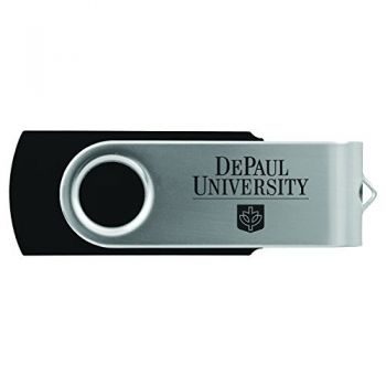DePaul University -8GB 2.0 USB Flash Drive-Black