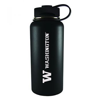University of Washington-32 oz. Travel Tumbler-Black