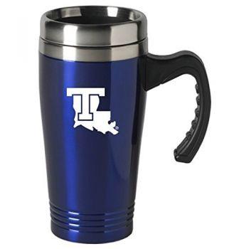 Louisiana Tech University-16 oz. Stainless Steel Mug-Blue