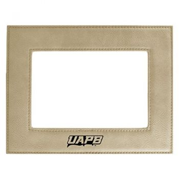 University of Arkansas at Pine Buff-Velour Picture Frame 4x6-Tan