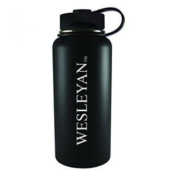 Wesleyan University -32 oz. Travel Tumbler-Black