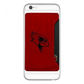 Illinois State University-Cell Phone Card Holder-Red