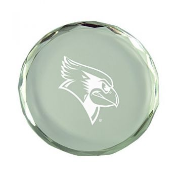 Illinois State University-Crystal Paper Weight