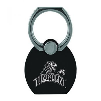 Lincoln University|Multi-Functional Phone Stand Tech Ring|Black