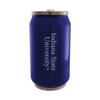 Indiana State University - Stainless Steel Tailgate Can - Blue