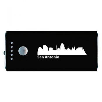 Quick Charge Portable Power Bank 5200 mAh - San Antonio City Skyline