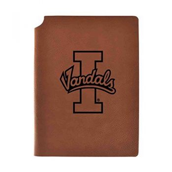 University of Idaho Velour Journal with Pen Holder|Carbon Etched|Officially Licensed Collegiate Journal|