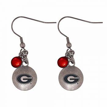 University of Georgia-Frankie Tyler Charmed Earrings