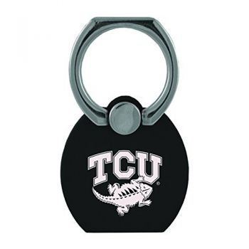 Texas Christian University|Multi-Functional Phone Stand Tech Ring|Black