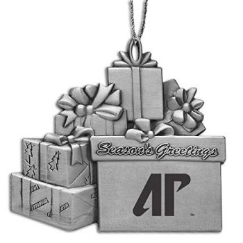 Austin Peay State University - Pewter Gift Package Ornament