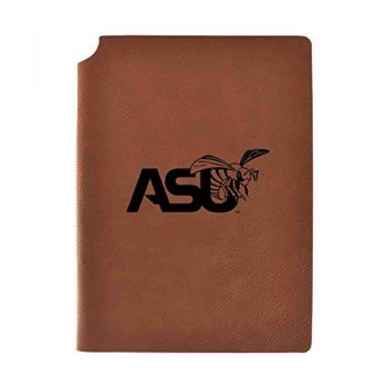 Alabama State University Velour Journal with Pen Holder|Carbon Etched|Officially Licensed Collegiate Journal|