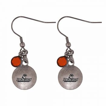 Bowling Green State University-Frankie Tyler Charmed Earrings