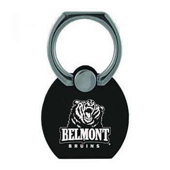 Belmont University|Multi-Functional Phone Stand Tech Ring|Black